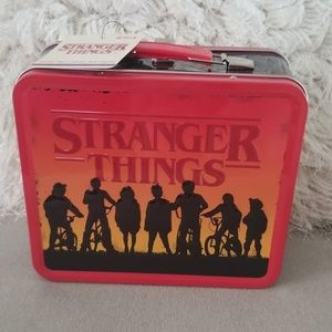 Strenger things lunch box collectable new